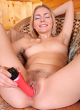 Using dildo is her passion