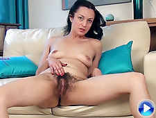 In blue, Tracey Anne slows strips and is gorgeous