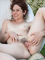 Outside stripping and play with Fiona M